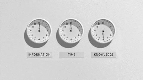 Информация. Время. Знания.