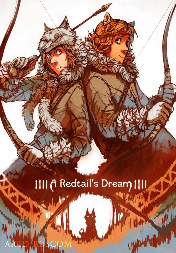 A Redtail's Dream Глава 8. часть 1 (много трафика) Комиксы, Minna Sundberg, Длиннопост