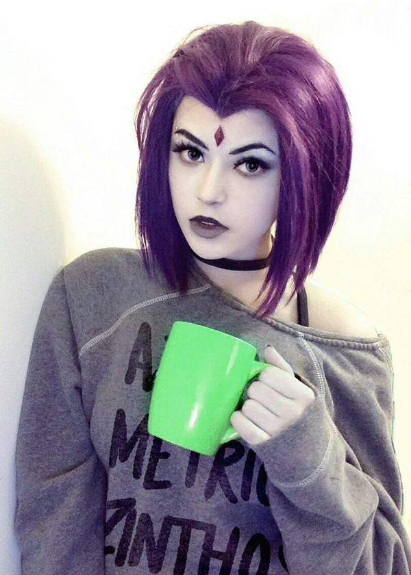 Raven (DC) cosplay Teen Titans, Ворон, Косплей, Длиннопост