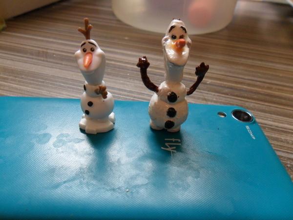Мой снеговик Рукоделие, Полимерная глина, Олаф