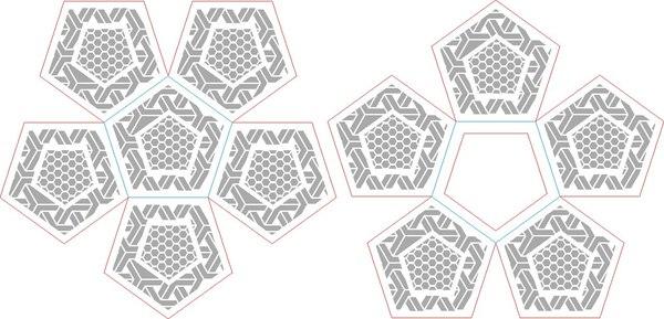 Импортозамещение. [Часть первая] Додекаэдр, Геометрия, Рукоделие, Хобби, Своими руками, ЧПУ, Corel Draw, Длиннопост