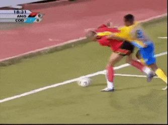 Немного промахнулся по мячу Футбол, Кубок Африки, Ангола, Конго, Яйца, Гифка, Фуболисты