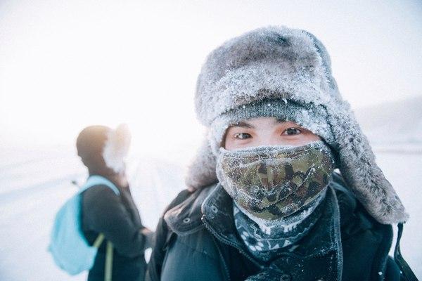 Прогулка по сопкам Якутск 2017 Якутия, Якутск, Прогулка, Фото, Зима, Длиннопост