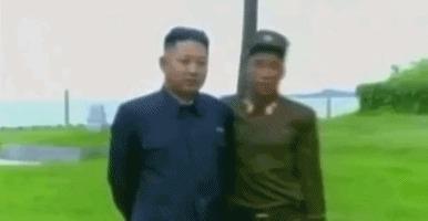 Самый храбрый человек Северной Кореи Северная Корея, Храбрость, Смерть, Гифка