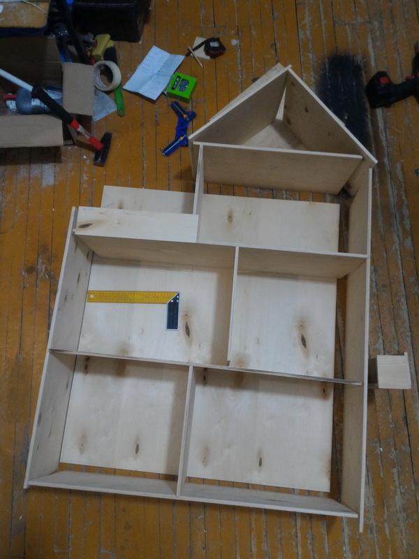 Кукольный дом из фанеры своими руками фото 454