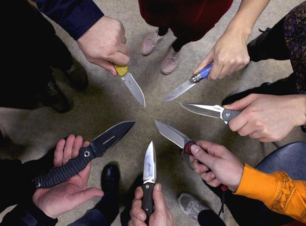 Когда с коллегами на одной волне нож, edc, фото, моё