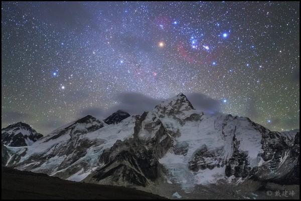 Крыша мира Эверест, Deep space, Созвездие Ориона