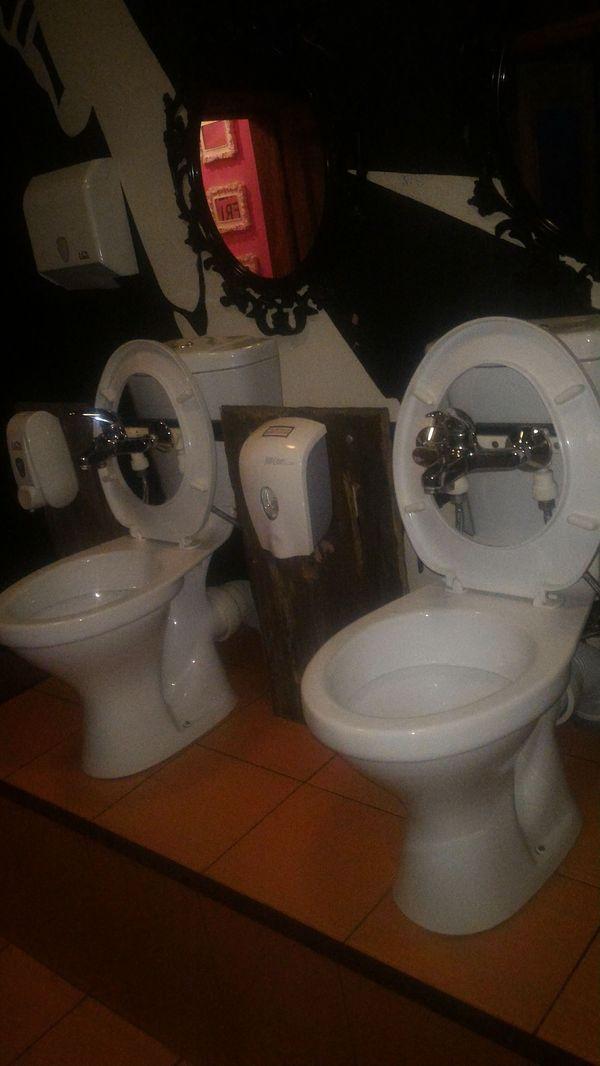 Туалет для них. Унитаз, Женщина, Мужчина, Раковина, Ульяновск, Yankee, Туалет, Креатив, Длиннопост