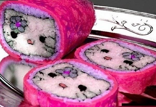"""Роллы """"мозаика"""" Необычные суши, суши, Суси, роллы, японские роллы, длиннопост"""