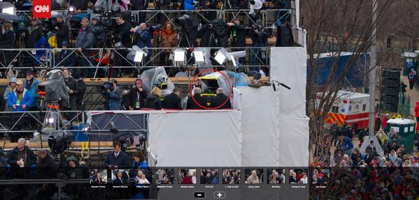 На CNN размещено фото инаугурации Трампа в ОЧЕНЬ высоком разрешении. Много забавного. CNN, Гигапиксель, Трамп, Инаугурация, Политика, Фото, Высокое разрешение, Zoom