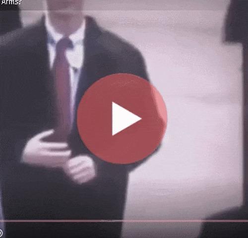 Телохранитель Трампа имеет ненастоящую руку Гифка, Телохранитель, Рука, Оружие, Дональд Трамп, Инаугурация, Фейк