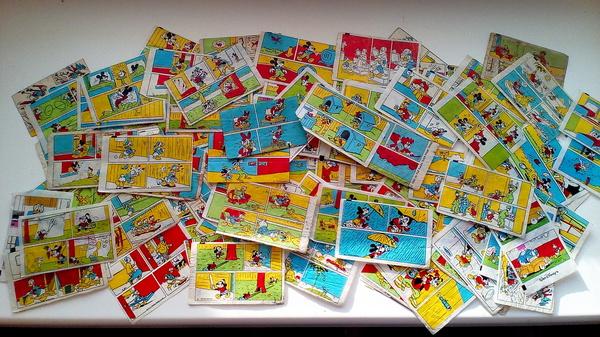 Моя частичка детства Дональды, Вкладыши, Коллекция, Детство 90-х