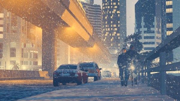 Атмосфера в Cities:Skylines Игры, Фото, Город, Дом, Cities: Skylines, Снег, Атмосферно, Длиннопост