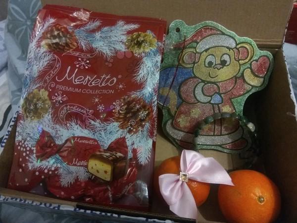 Мой подарок от снегурочки из Балашихи) анонимный Дед Мороз, тайный Санта, обмен подарками, Новый Год, длиннопост