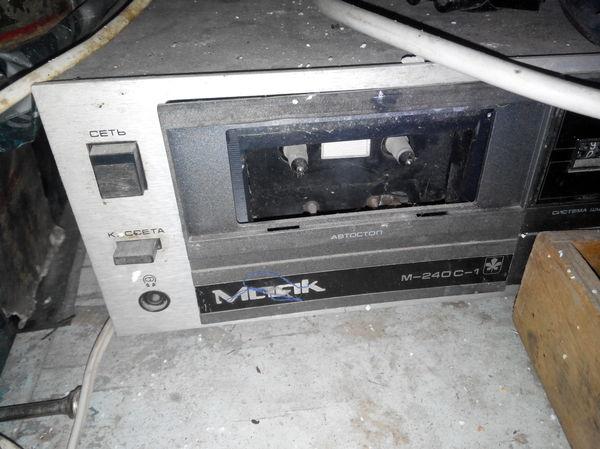 Реанимация Маяк М-240С-1 Ремонт, Восстановление, Усилитель, Магнитофон, Длиннопост