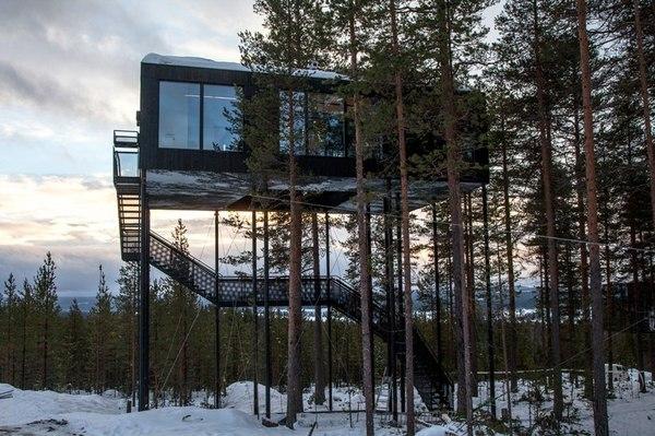Избушка на курьей ножке по-норвежски World of building, Сооружения, Строительство, Архитектура, Идея, Норвегия, Избушка, Интересное, Длиннопост
