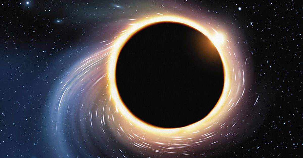 black hole picture - 800×496