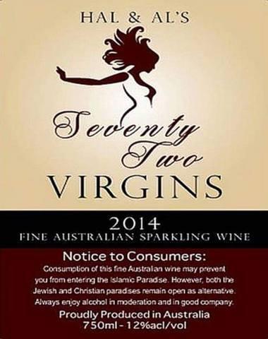 Потребление этого австралийского вина может помешать вам войти в исламский рай Ислам, Вино, Девственница, Австралия, Нетолерантность, Троллинг, Политика