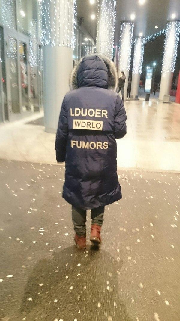 Собери из букв слова сам Lduoer, Wdrlo