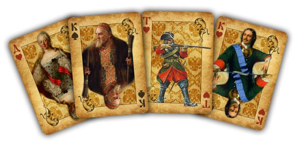 Продолжение поста о карточной колоде Игральные карты, Русский стиль, Карты, Россия