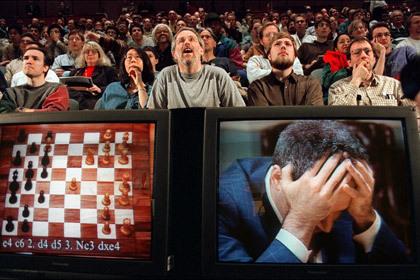Есть такая игра - шахматы Шахматы, Видео, Партия, Капаров, Соломаха, Гельман, Шахматканал, Длиннопост