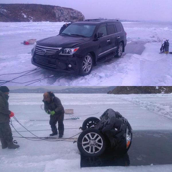 Ловля корюшки на Лексус Владивосток, Зима, Не бита, Не бит не крашен, Lexus