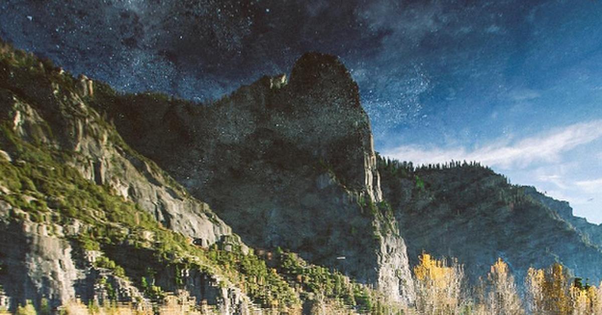Картинка перевернутые горы