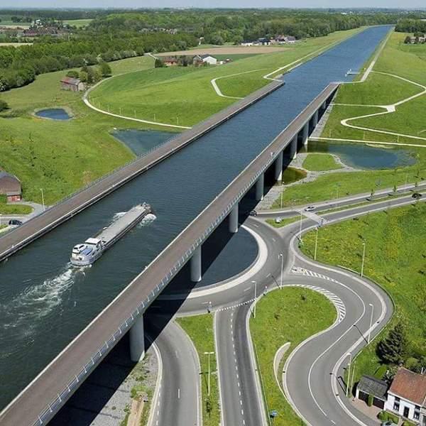 Магдебургский водный мост.