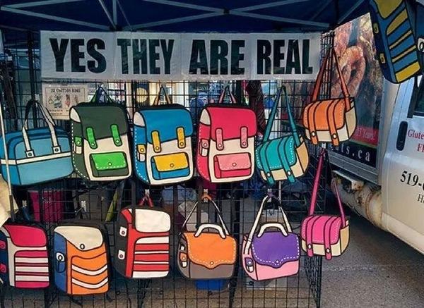 Мультипликационный дизайн сумок сумка, дизайн, мультипликация