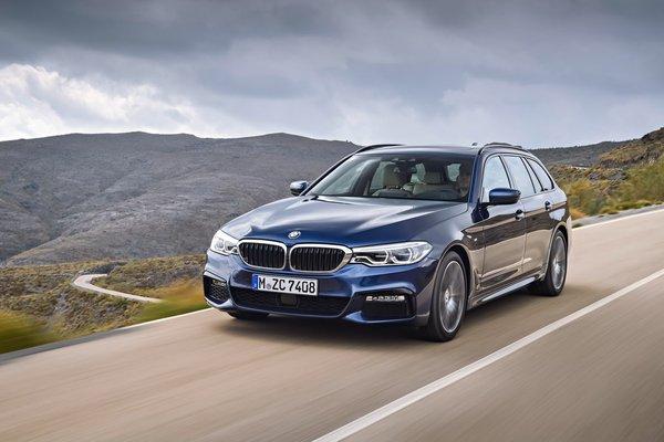 BMW представил новый универсал 5-Series Авто, Bmw, Dromru, Универсальный, Длиннопост