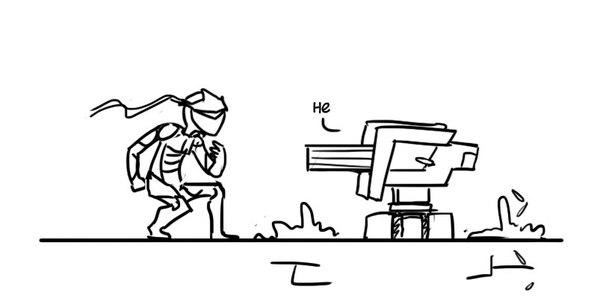 Типично overwatch, bastion, Genji, длиннопост