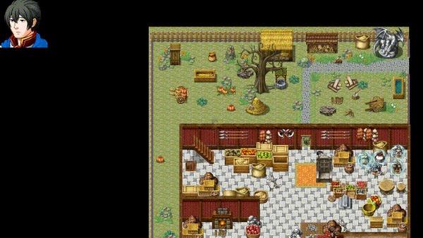 Eternity. Кратко про геймплей Игры, Pixel Art, Лес, Пиксель, Природа, RPG, RPG maker, Gamedev, Гифка, Длиннопост