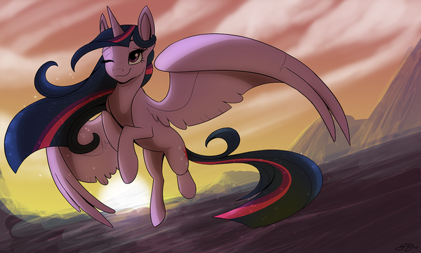 Princess of Friendship My little pony, Twilight Sparkle, Рисунок