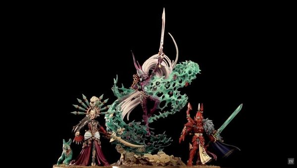 Triumvirate of Ynnead Покраска, Warhammer 40k, Длиннопост