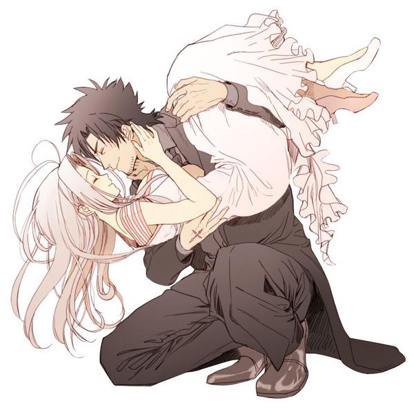 Fate/Zero Kiritsugu x Irisviel Fate, Fate Zero, Emiya Kiritsugu, Irisviel von einzbern, Drama CD, Anime Art, Аниме