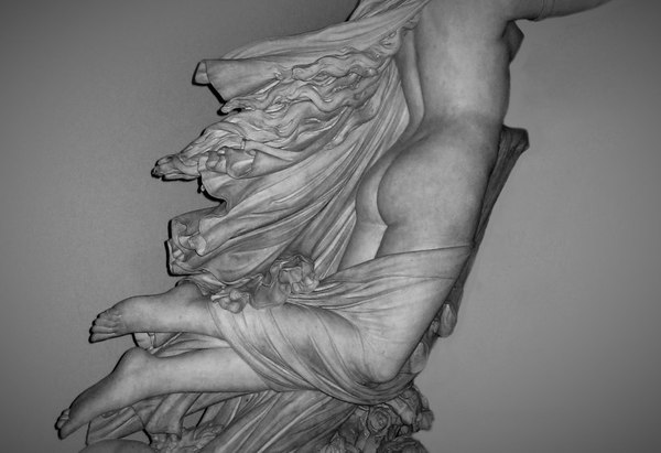 «The Sleep of Sorrow and the Dream of Joy», Raffaelle Monti, Victoria and Albert Museum, London, United Kingdom, 1861. Мрамор, Academic Sculpture, Длиннопост