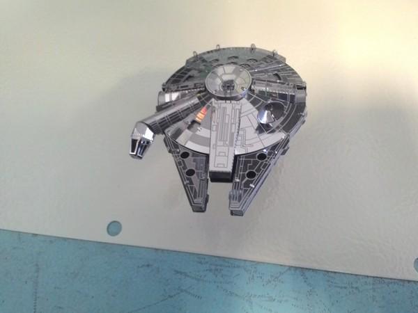 Сокол тысячелетия железный 3D пазл из Китая 3D пазл, Сокол тысячелетия, star wars, звездные войны IV, Хан Соло, своими руками, модель, Железный, длиннопост