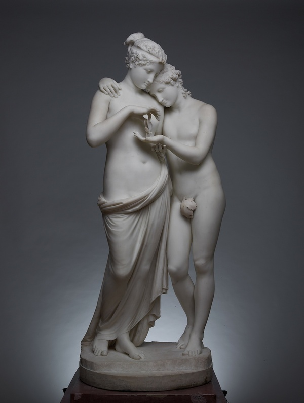 «L'Amour et Psyche», Antonio Canova, musee du Louvre, Paris, France, 1797. Мрамор, Academic Sculpture, Длиннопост