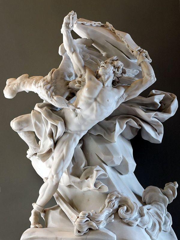 Прометей (1762 г) Скульптура, Неоклассицизм, Прометей, Длиннопост