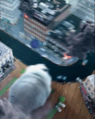 Фильм - котастрофа 3DS max, Fumefx, Adobe After Effects, Спецэффекты, Гифка