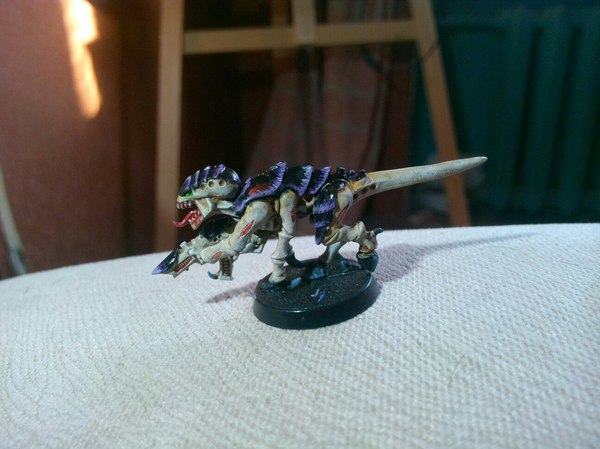 Первый покрас с нуля Warhammer 40k, миниатюра, фотография, длиннопост