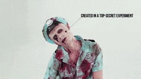 100 лет жути: как эволюционировали зомби Я знаю чего ты боишься, Ужасы, Зомби, История, Факты, Интересное, Мертвые, Гифка, Видео, Длиннопост