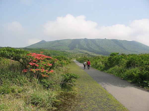 Вулкан самоубийц в Японии вулкан, япония, Суицид