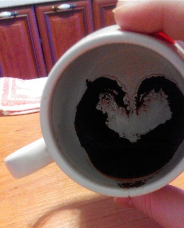 Утренний кофе c тестом Роршаха Кофе, Предсказание, Пятница, Тест Роршаха