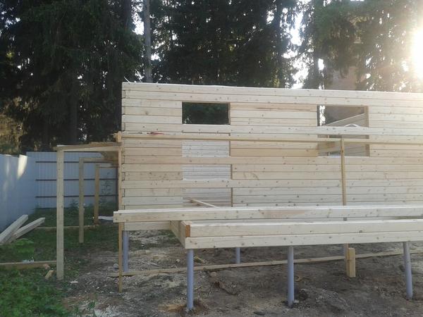 Как нам дом строили. Часть 1. Участок, Строительство, Загородный дом, Сруб, Длиннопост