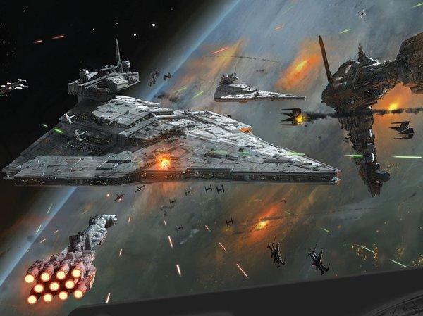 Техника Звездных войн: флот повстанцев. Часть 2. Star wars, Фантастика, Флот, Научная фантастика, Длиннопост