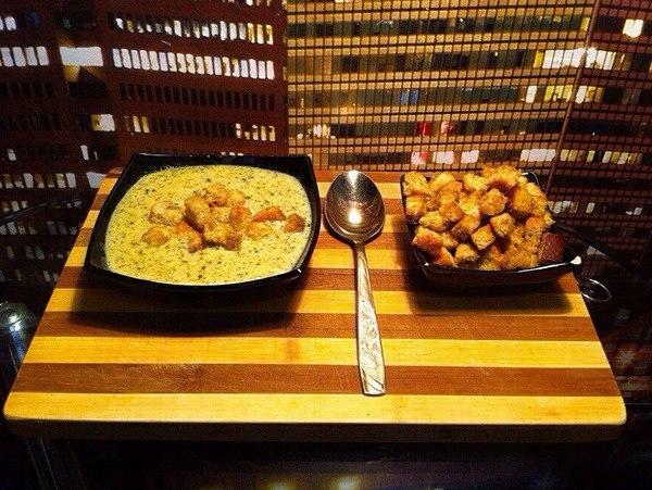 Любимый рецепт сырного супа за 64 рубля. кулинар, рецепт, сырный суп, еда, нищеброд, Nikitanice, NikNiceFood, длиннопост