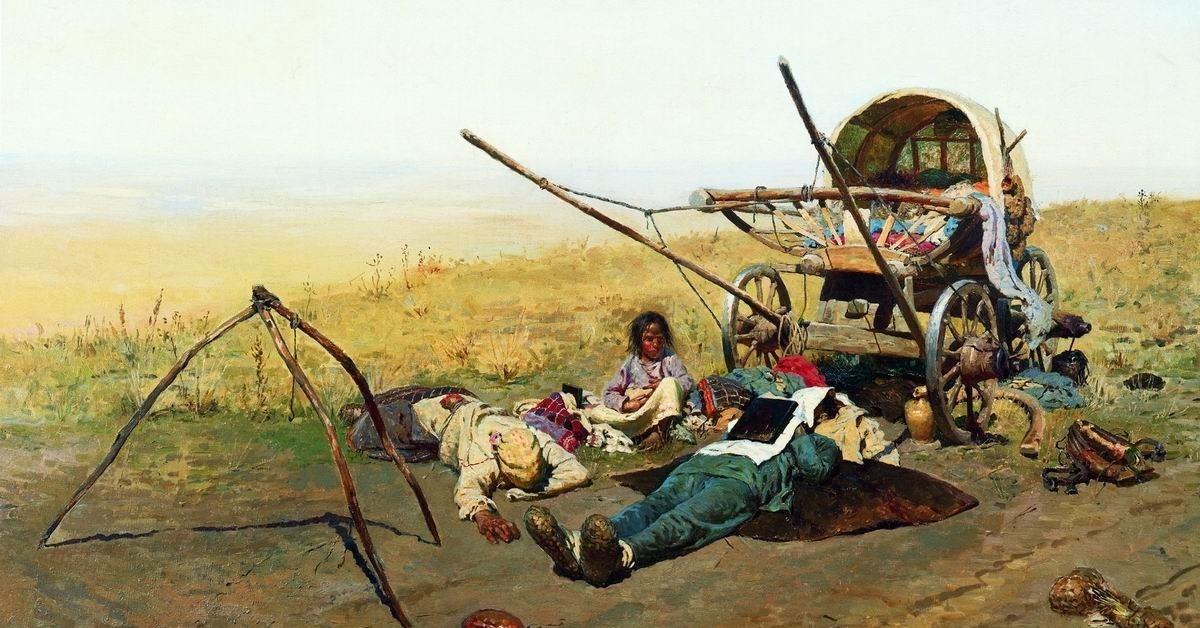 Иванов. Смерть переселенца: что на самом деле изображено на картине