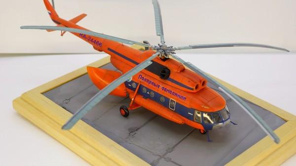 Ми-8 от Звезды. Полярная авиация Ми-8, Моделизм, Длиннопост