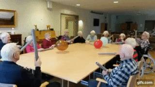 Развлечения в домах престарелых кровать для лежачего больного дома купить